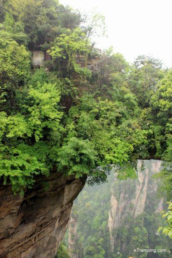 Highest natural bridge in the world