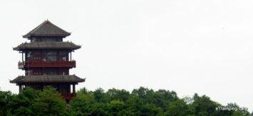 Pagoda in ZhangJiaJie mountains
