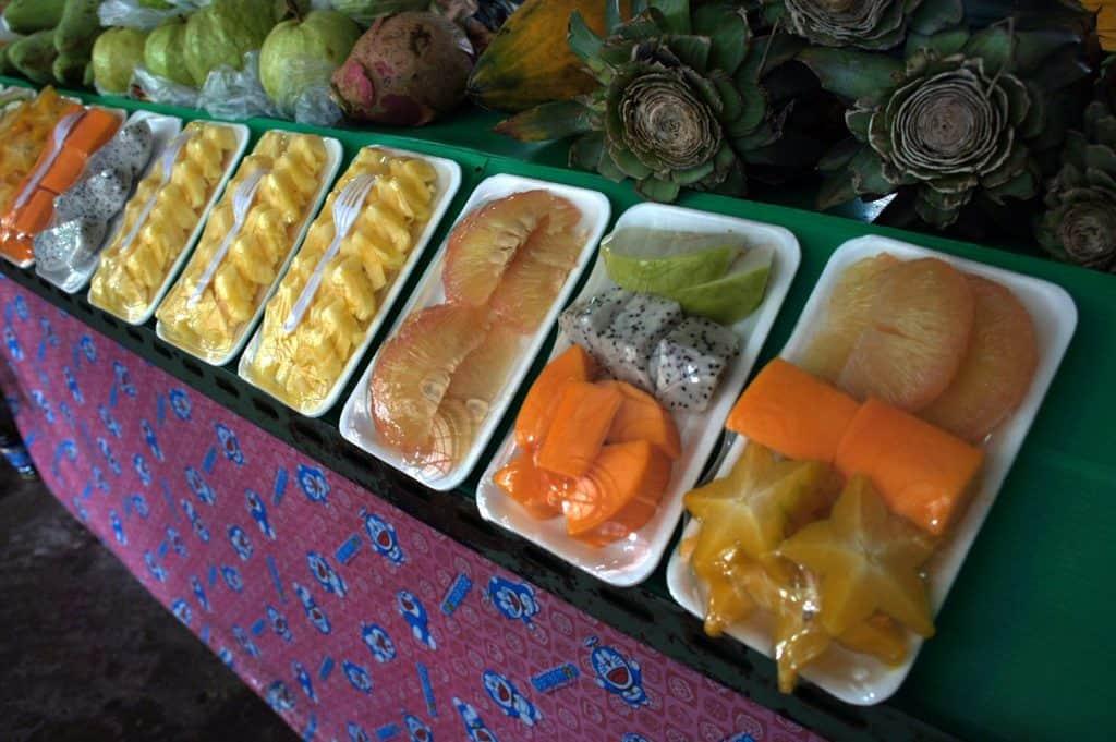 Thai tropic fruits