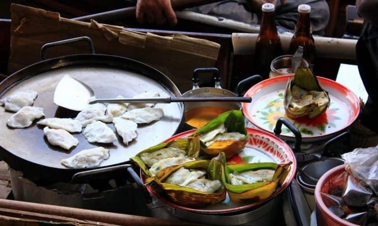 Chinese dumplings, Bangkok