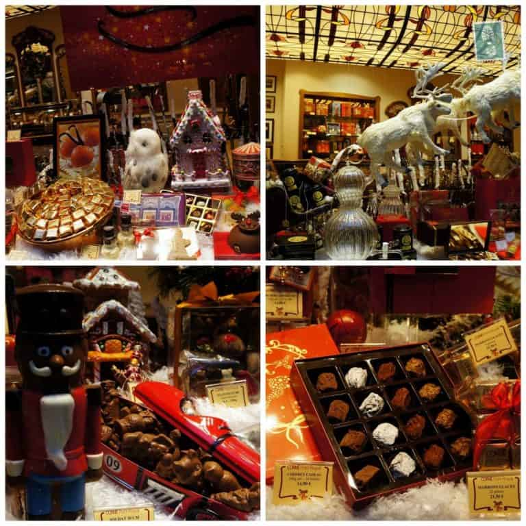 Chocolate display in Brussels