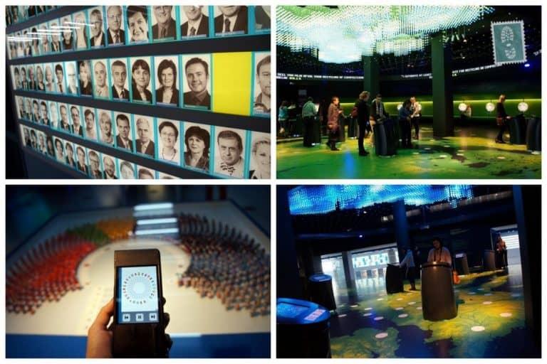 Inside Parlamentarium , Brussels