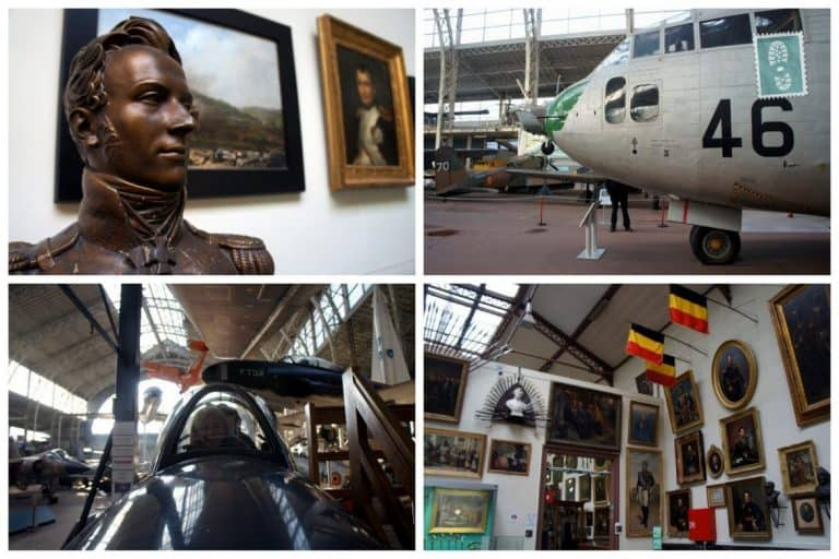 Army museum in Brussels