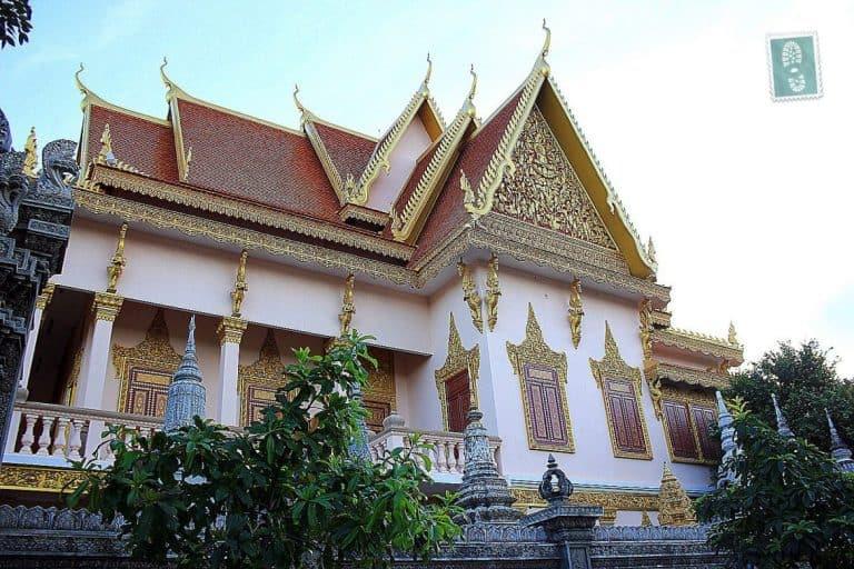 Temple in Phnom Penh