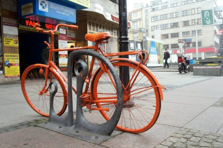 Bicycle in Wroclaw