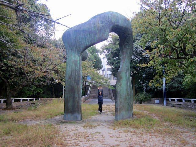 Hiroshima MOCA - the open-air exhibition