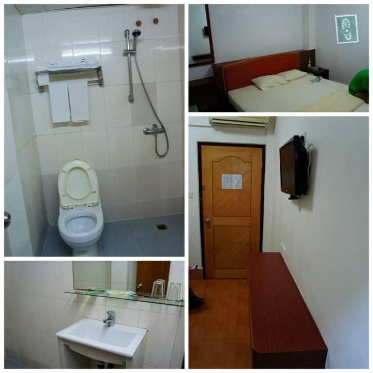 A room in Ko Wah Hotel, Macau, China