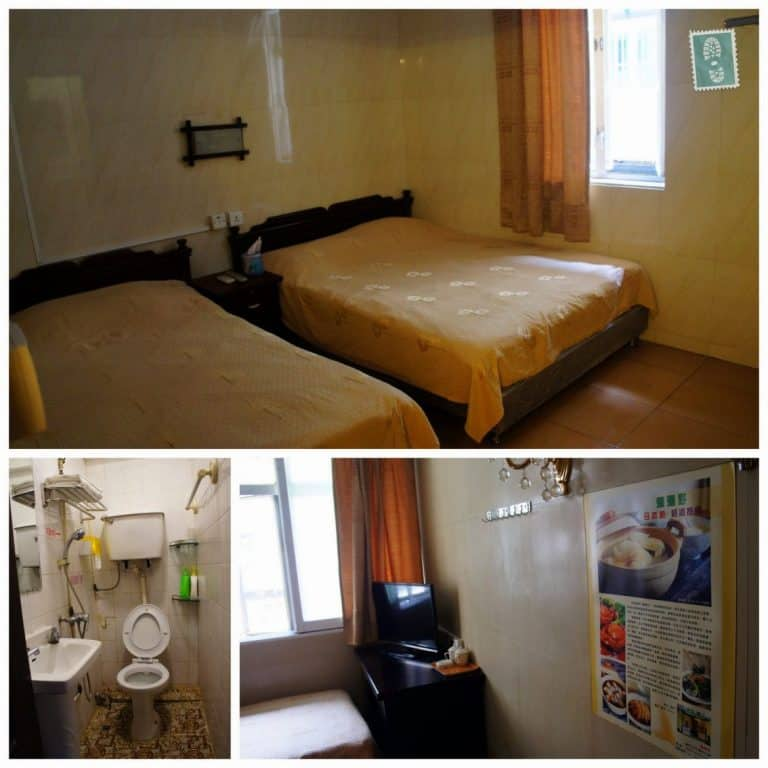 Our room in Vila Hou Va, Macau