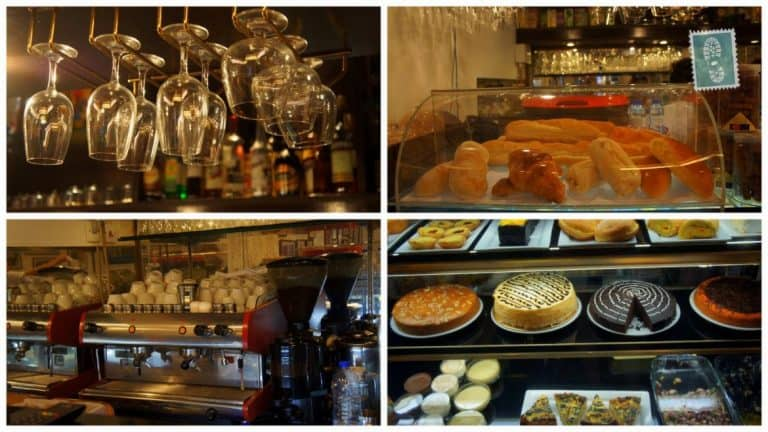 A great option of desserts and hot drinks at Cafe Ou Mun