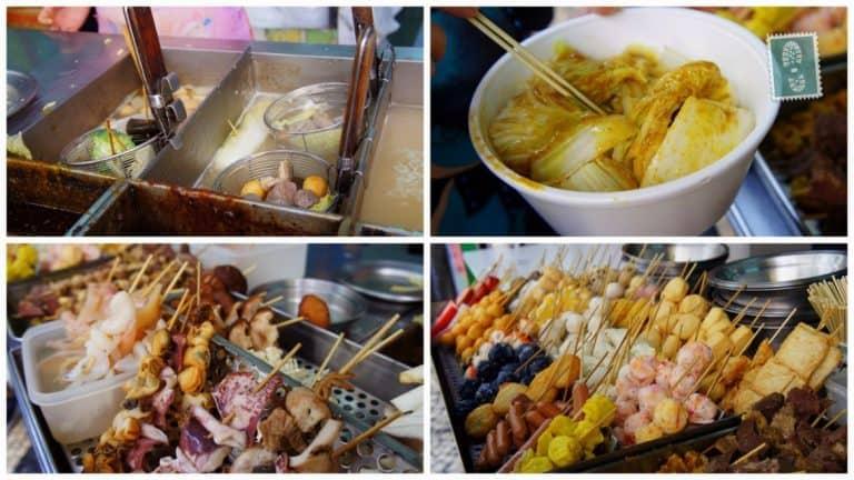 Local seafood stand, Macau, China