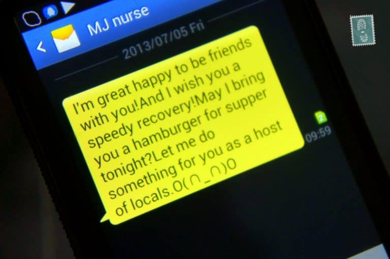 speed recovery wishes , text message