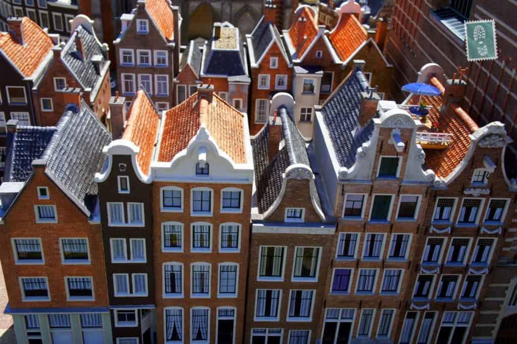 Typical Dutch houses - Madurodam