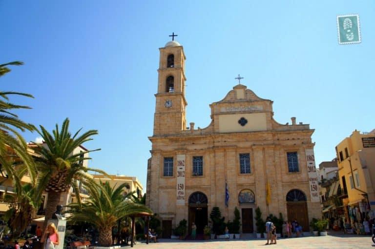 The church in Chania, Crete