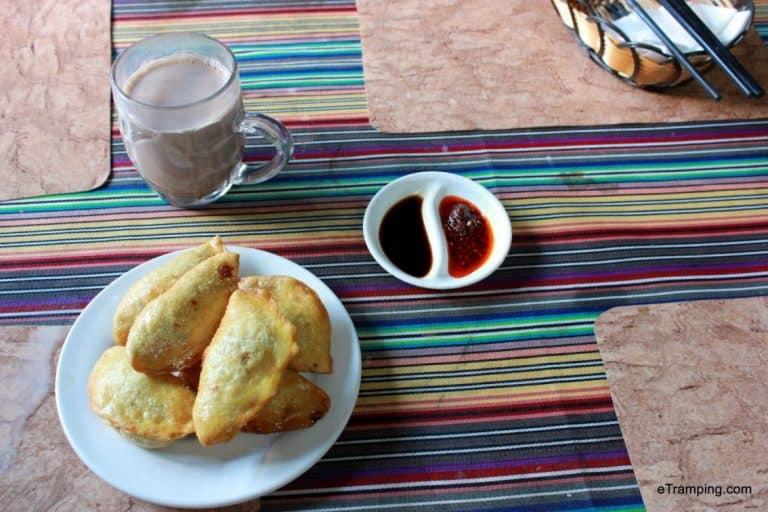 Tibetan breakfast