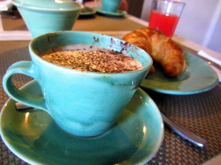 Delicious Italian cappuccino