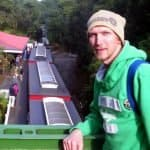 Jonny Blair at Rinadeena - the peak of the Western Wilderness Railway in Tasmania
