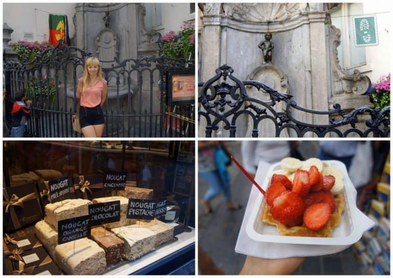 Chocolate, waffle, Manneken Pis - Brussels, I'm back