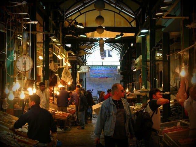 Thessaloniki fish market