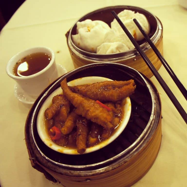 Chicken feet dim sum