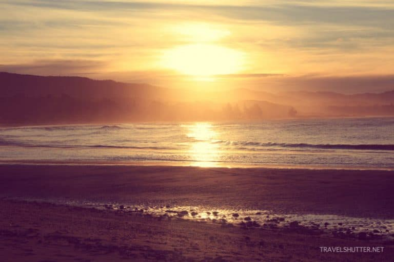 sunset-golden-bay-WWOOF-Around-New-Zealand-for-Under-25-a-Day