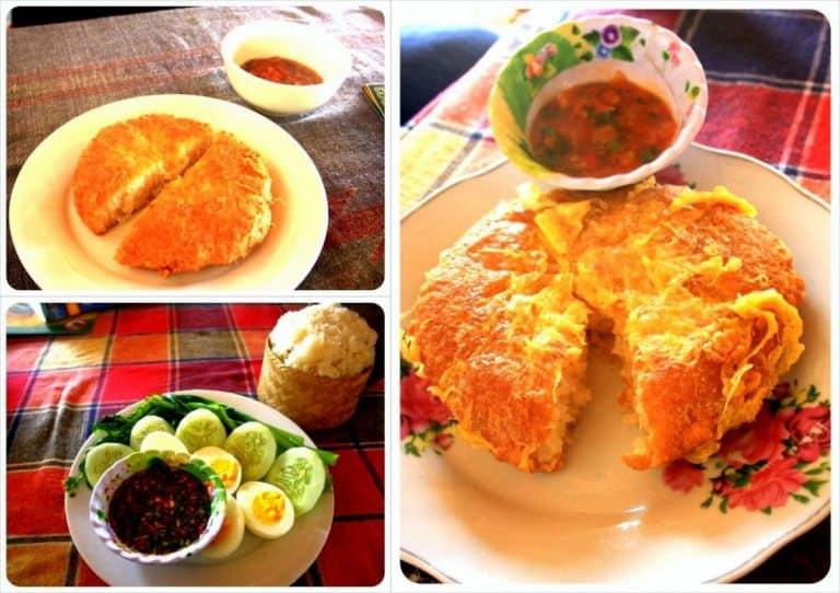 Laos breakfasts