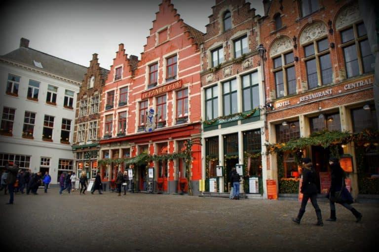 Bruges city center