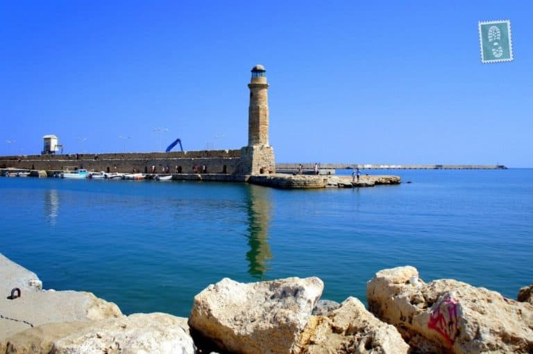 Venetian Harbour in Rethymno