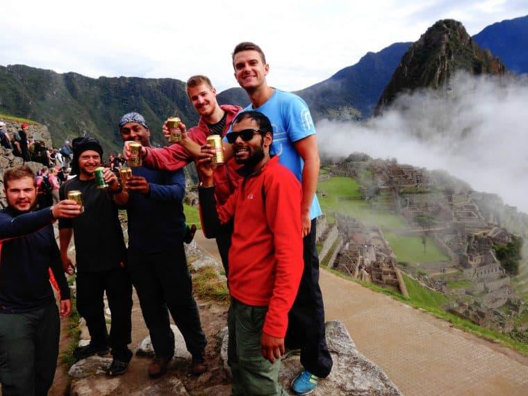 Pilsen beer in Peru