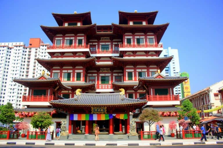 Buddha Tooth Relic Temple and Museum in Chinatown