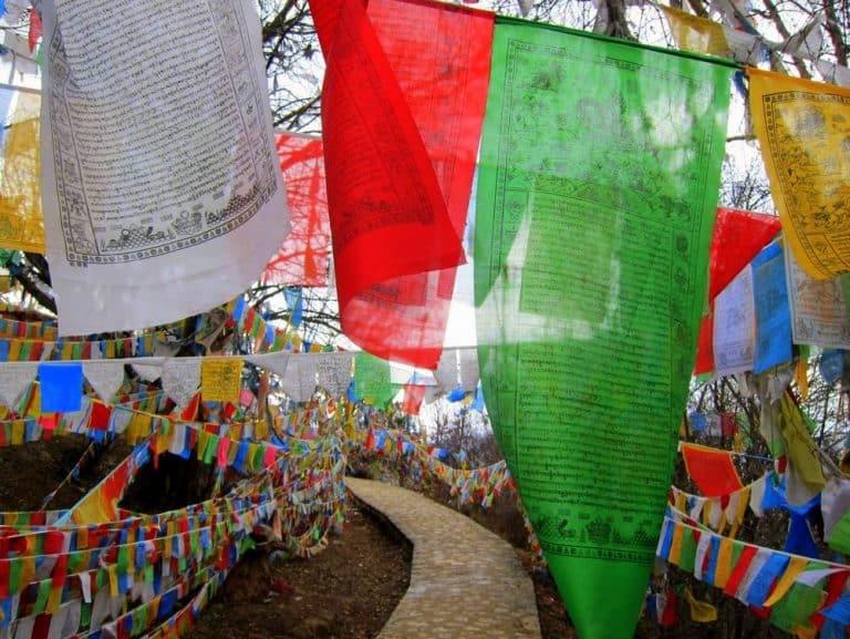 Baiji Si Prayer Flags