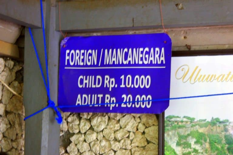 Foreign price
