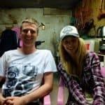 Agness and Cez of eTramping - Da Lang, Dongguan, China