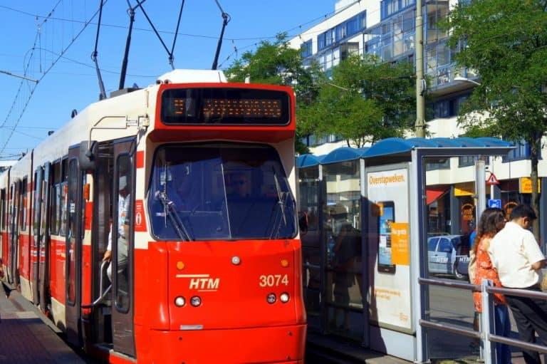 Tram in Hague