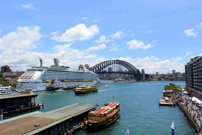 From the Cahill Expressway glass elevator