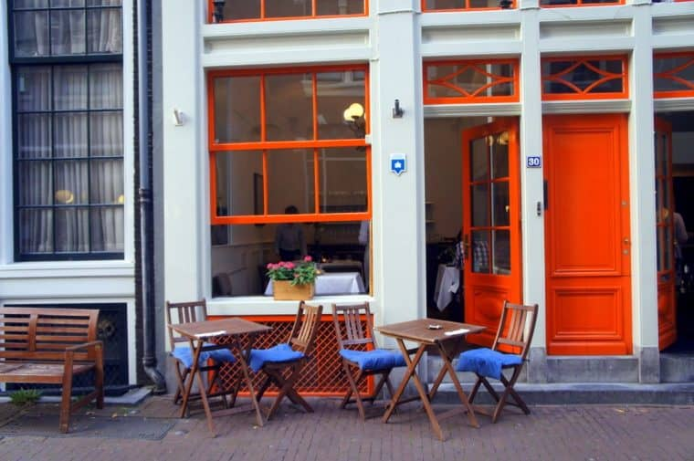 Cafe in Amsterdam