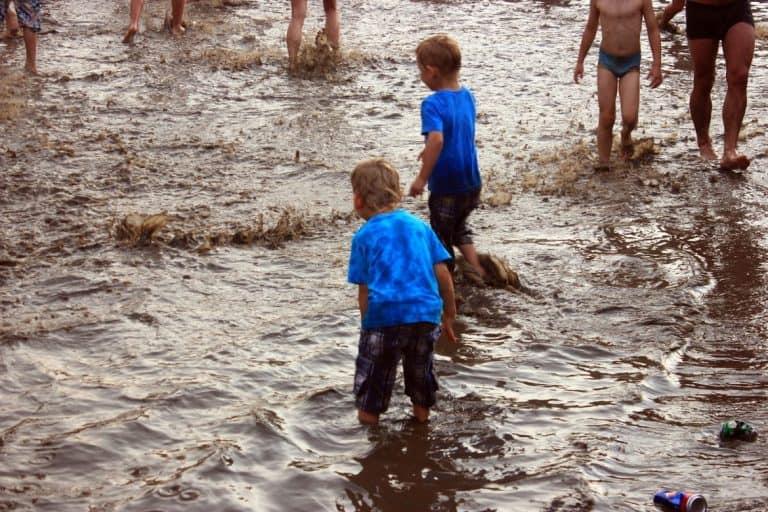 Woodstock kids playing