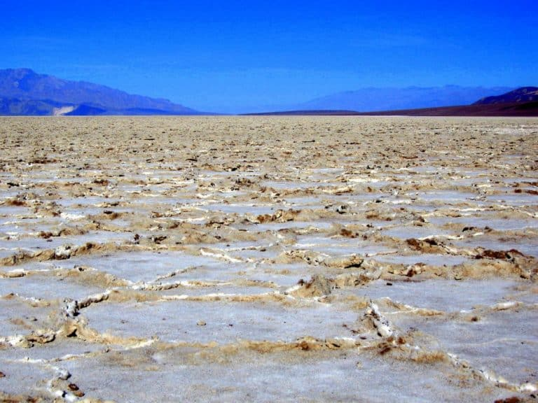 Lowest point In the USA in Death Valley