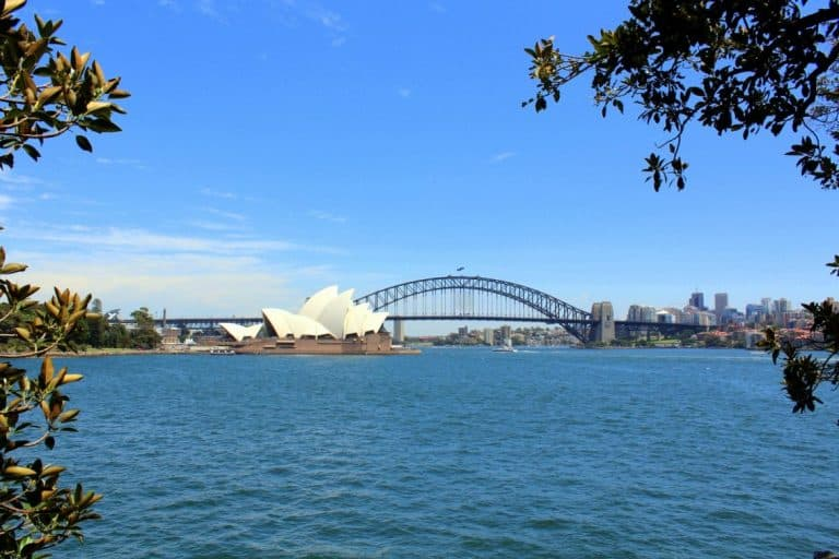 Sydney from Mrs Machquarie's Point