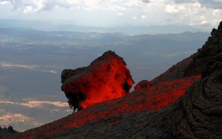 active volcano in Guatemala