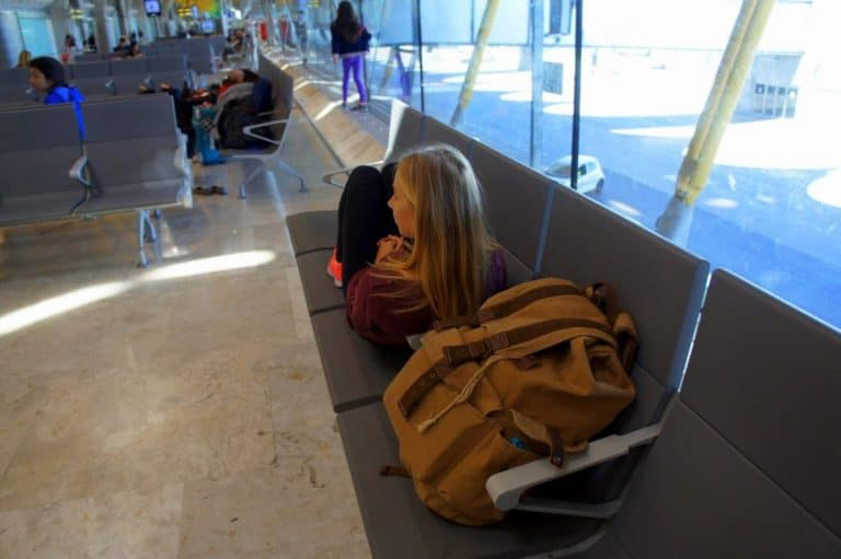 Agness at the airport