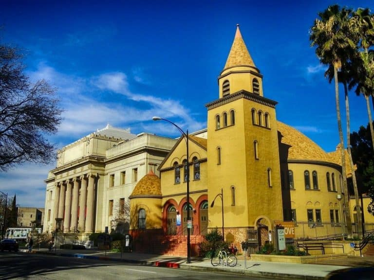 Unitarian church in San Jose.