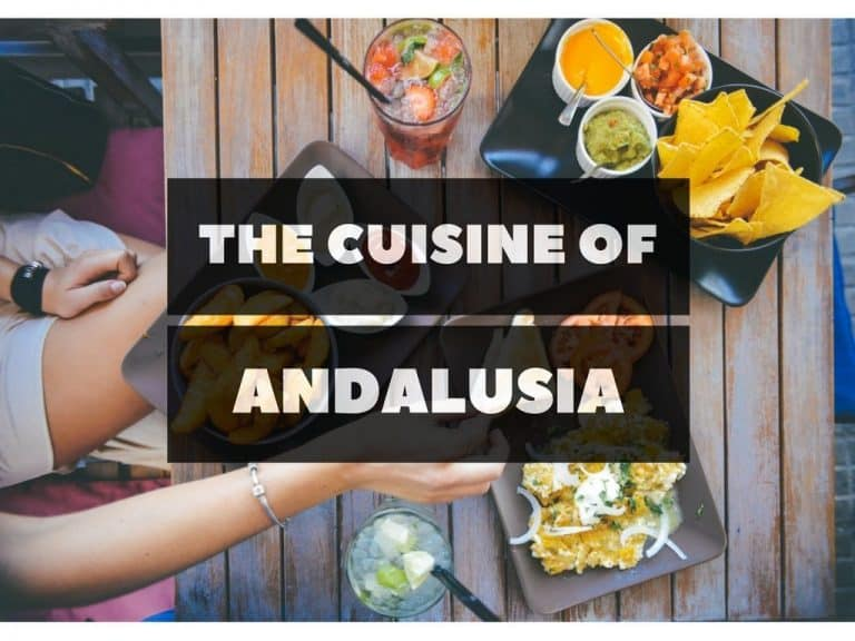 the cuisine of Andalusia