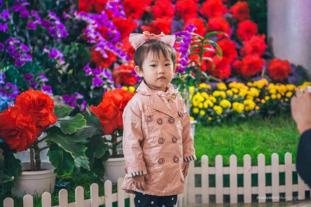 North Korean girl