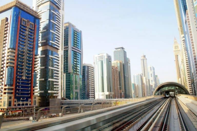 Well developed Dubai.