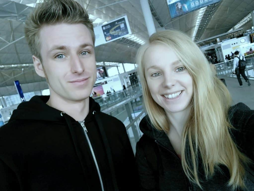 Agness and Cez fly to DPRK