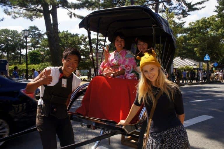 free ride in japan