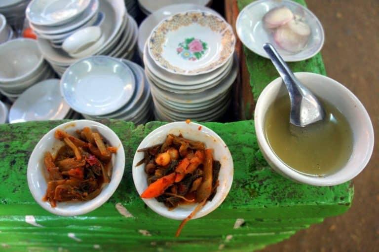 food in bagan