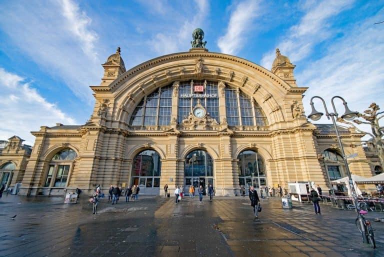 Estación central de Frankfurt