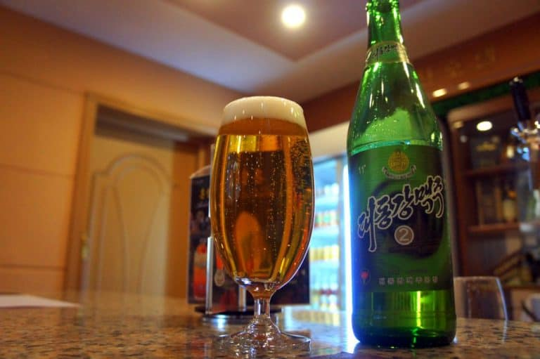 North Korean beer