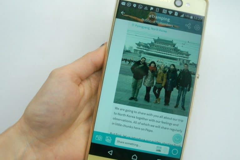 pepo app etramping north korea update